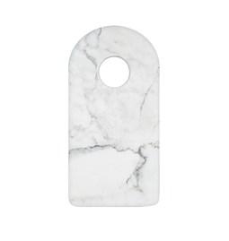 Planche à découper - marbre blanc
