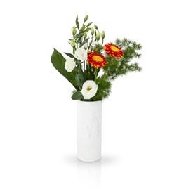 Vase Cylindrique - marbre blanc