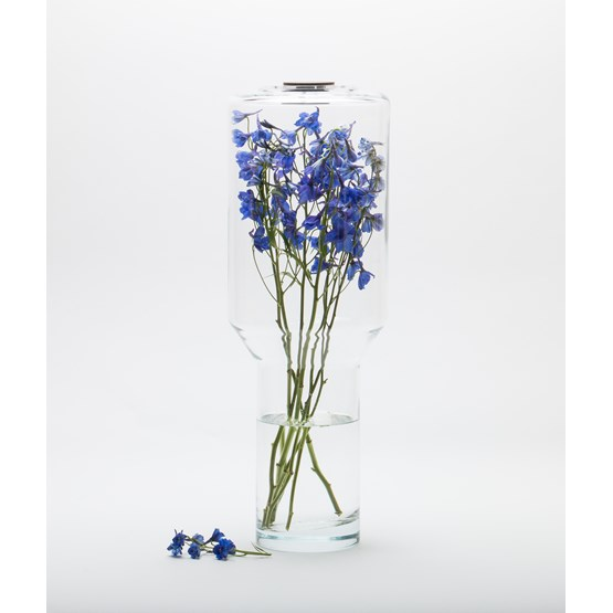 Vase Resonance - glass  - Design : Jade Design