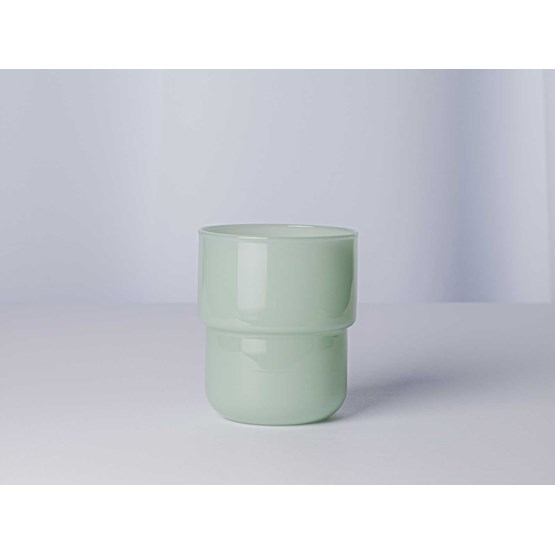 Glasses set of 4 pieces 250 ml STACK - jade green - Design : Maarten Baptist