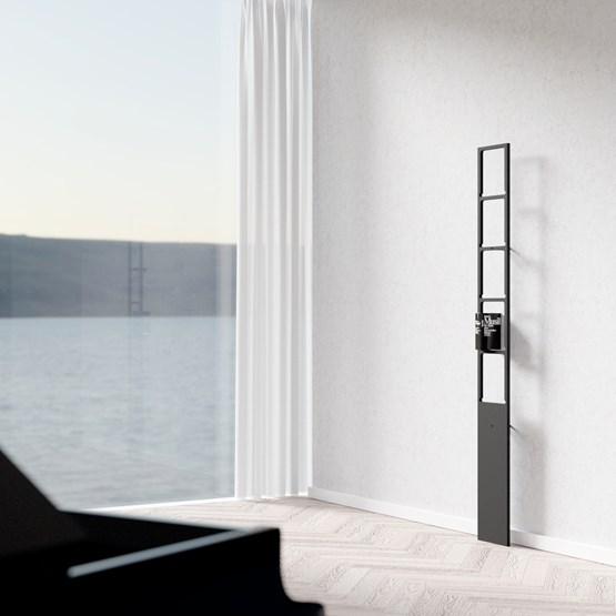 Etagère PERSONA - noir - Design : Breuer Bono