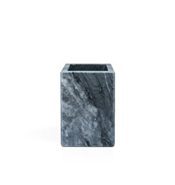 Squared toothbrush holder - grey marble