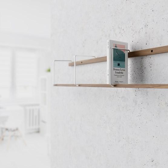 Etagère ITALIC - noyer - Design : Breuer Bono