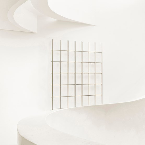 Bibliothèque OPEN -  blanc - Design : Breuer Bono