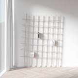 SCHLAGSEITE bookshelf - white 6