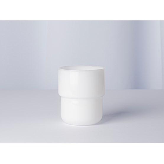 Verres lot de 4 pièces 250 ml STACK - blanc laiteux - Design : Maarten Baptist
