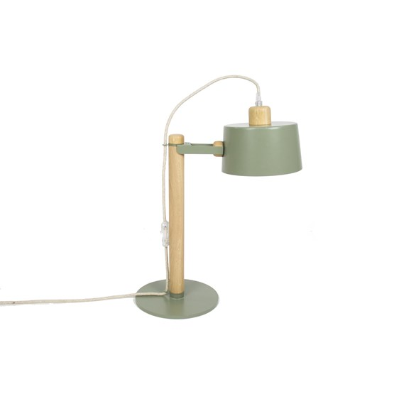 Petite lampe by Suzanne - Grey green - Design : Dizy