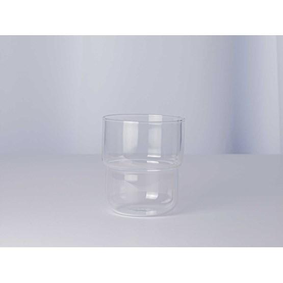 Verres lot de 4 pièces 250 ml STACK - verre - Design : Maarten Baptist