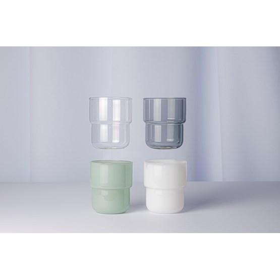 Verres lot de 4 pièces 250 ml STACK - multicolore - Design : Maarten Baptist
