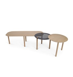Grande table basse by Olivia - Noir
