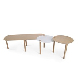 Grande table basse by Olivia - Blanc