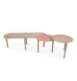 Grande table basse by Olivia - Powder pink