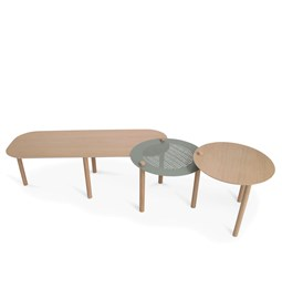 Grande table basse by Olivia - Vert de gris