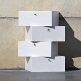 LIBERTA Chest of Drawers - White 4