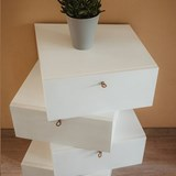 LIBERTA Chest of Drawers - White 6