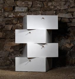 LIBERTA Chest of Drawers - White