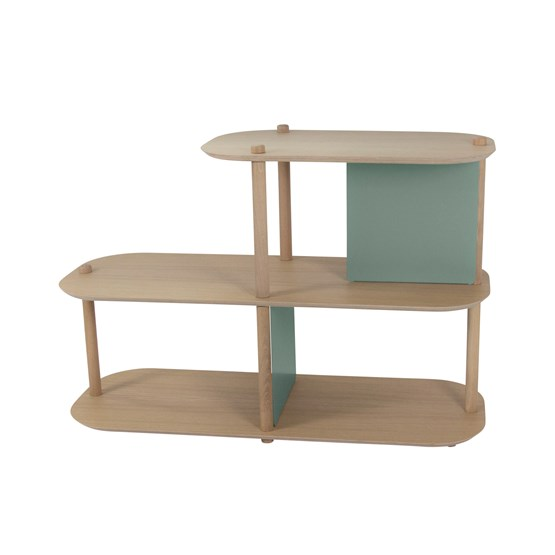 Grande étagère by Lou - Grey green - Design : Dizy