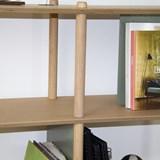 Grande étagère 3 niveaux by Théodore - Blanc 3