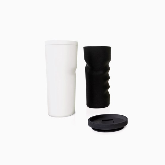 SAISI coffee mugs duo - Designerbox X Nespresso - Design : Jean Nouvel