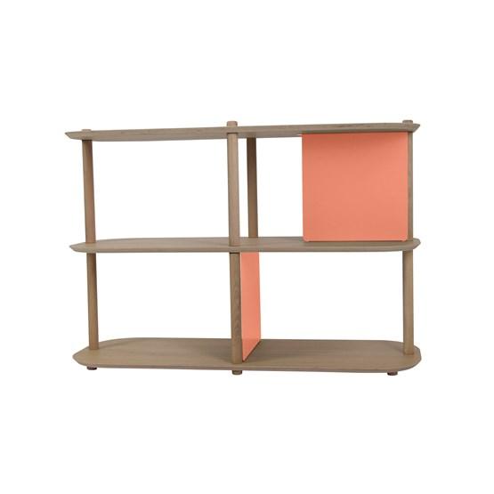 Grande étagère 3 niveaux by Théodore - Powder pink - Design : Dizy
