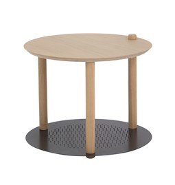 Petite table ronde by Constance - Black