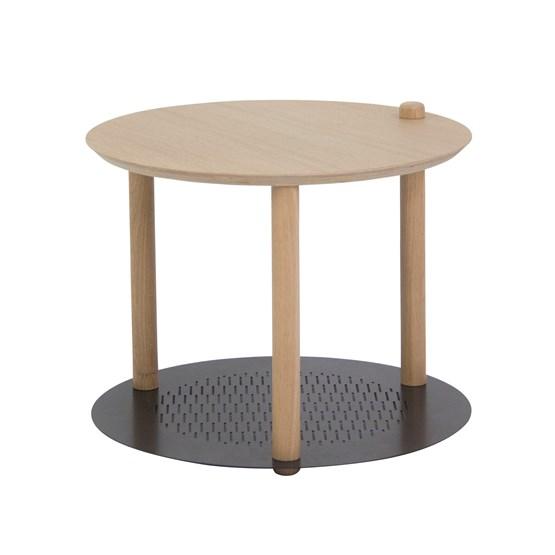 Petite table ronde by Constance - Black - Design : Dizy