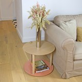 Petite table ronde by Constance - Powder pink 2