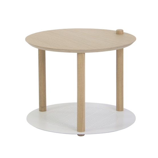 Petite table ronde by Constance - White - Design : Dizy