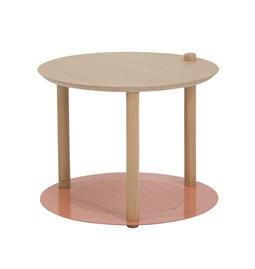 Petite table ronde by Constance - Powder pink