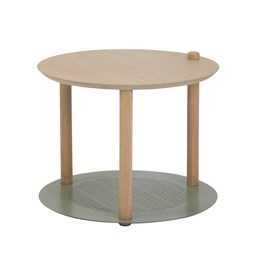 Petite table ronde by Constance - Grey green
