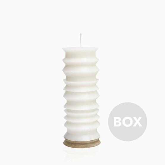 Bougie SPIN - Box 41 - Design : Flavia De Laubadère