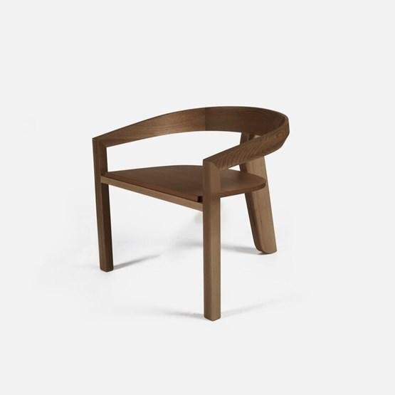 ICON lounge chair   walnut - Design : Porventura