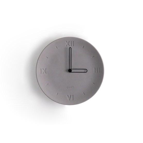 Antan Clock - Black needles - Design : Gone's