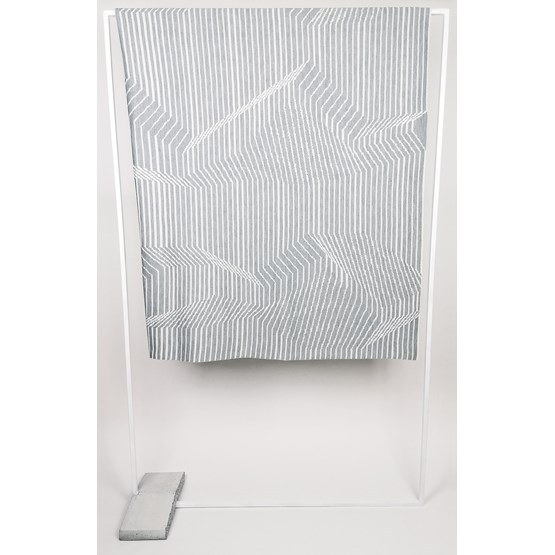 CONCRETE LANDSCAPE Blanket #1 - Design : KVP - Textile Design