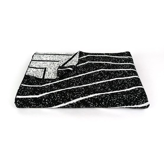 CONCRETE LANDSCAPE - Blender Blanket #3 - Design : KVP - Textile Design