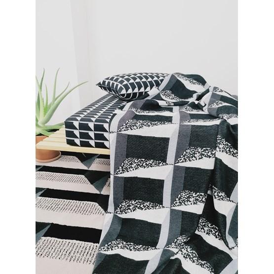 Plaid View - CONCRETE LANDSCAPE #4 - Design : KVP - Textile Design