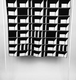 Plaid Block Window - CONCRETE LANDSCAPE #7
