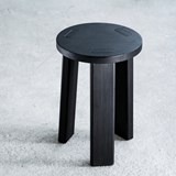 Tabouret Sugi  - noir 7