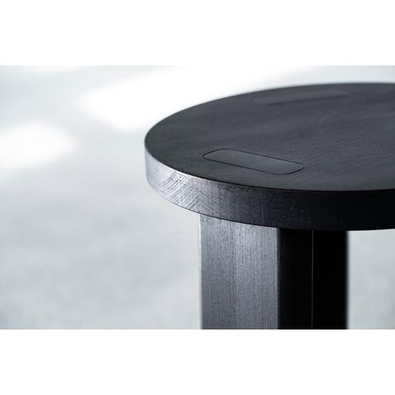 Banc Sugi  - noir - Design : Formel Studio