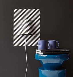 POSTER STRIPES lamp - Designerbox X Elle decor magazine