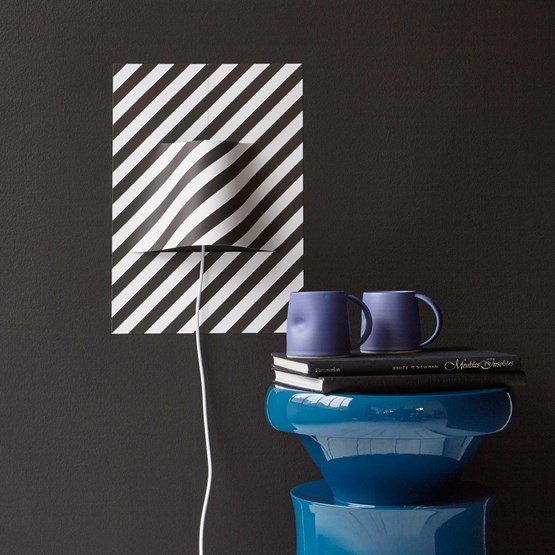 POSTER STRIPES lamp - Designerbox X Elle decor magazine - Design : YOY