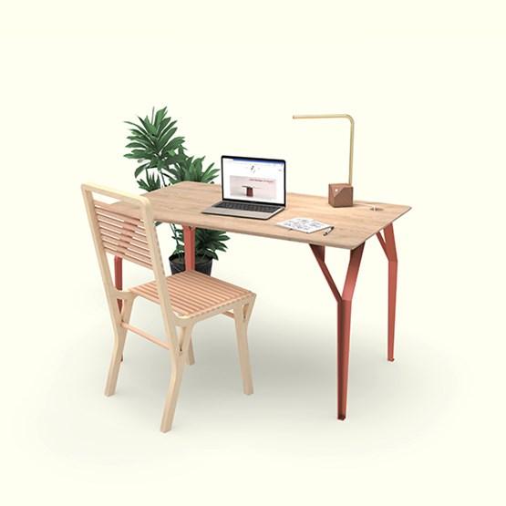 Bureau RICHARD Br. - Corail - Design : Bonome