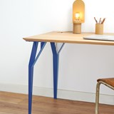 Desk RICHARD Br. - Signal blue 4