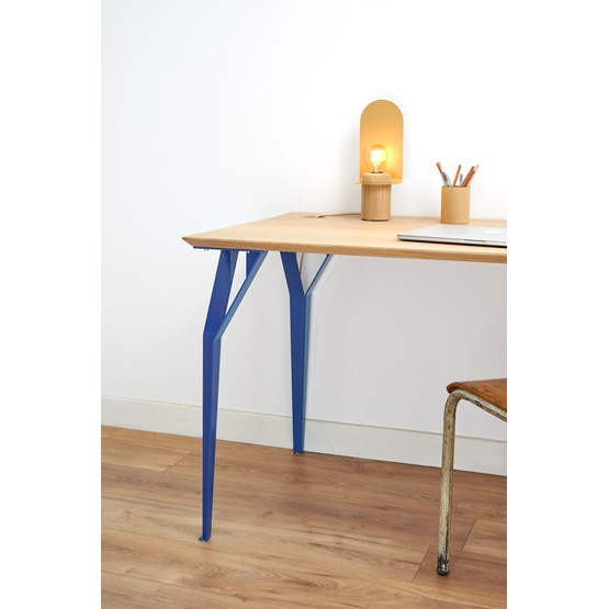 Desk RICHARD Br. - Signal blue - Design : Bonome