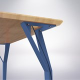 Desk RICHARD Br. - Signal blue 2
