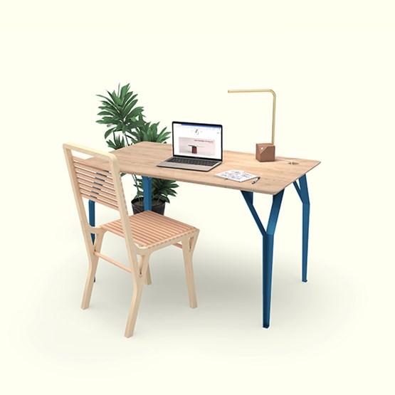 Bureau RICHARD Br. - Bleu signal - Design : Bonome