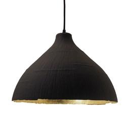 Pendant light GRANDE JEANNE - black & gold