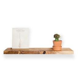 MODEL B0 floating shelf - one piece ash wood
