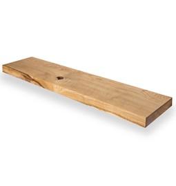 MODEL B0 floating shelf - one piece oak wood