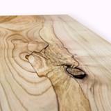 MODEL B0 floating shelf - one piece wild cherry wood 2